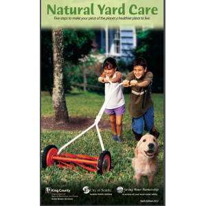 Natural Lawn Care Brochure (English)