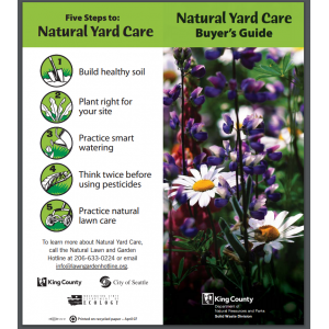 Natural Yard Care Buyers Guide